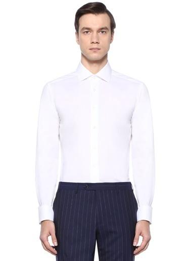 Corneliani Gömlek Beyaz
